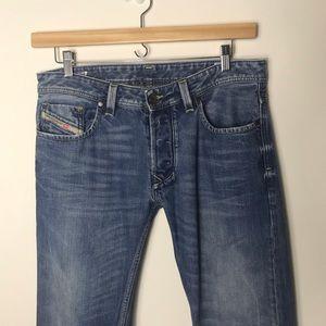 Diesel Larkee Straight Leg Button Down Jeans